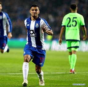 c4cfecf5e Porto confirmed top spot in their section in some style, beating German  outfit Schalke 3-1 to make it 13 points from five matches.