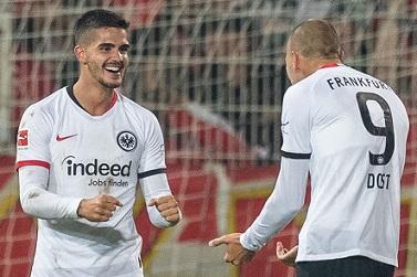 GERMANY: André Silva strikes again in Frankfurt win
